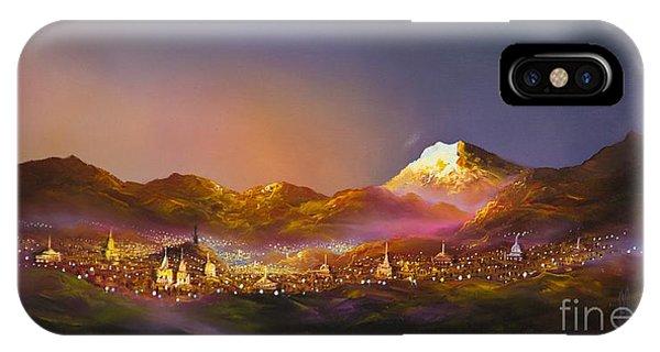 Ecuadorian Art Scene IPhone Case