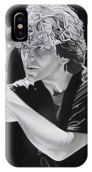 Eddie Vedder Black And White IPhone Case