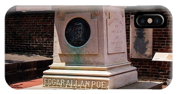 Edgar Allan Poe Tomb IPhone Case
