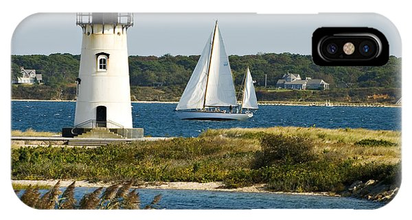 Edgartown Light At Martha's Vineyard IPhone Case