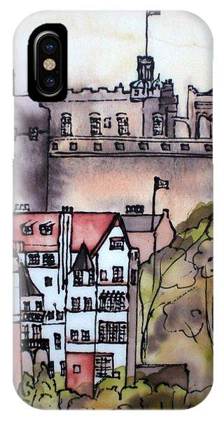 Edinburgh Castle Scotland IPhone Case