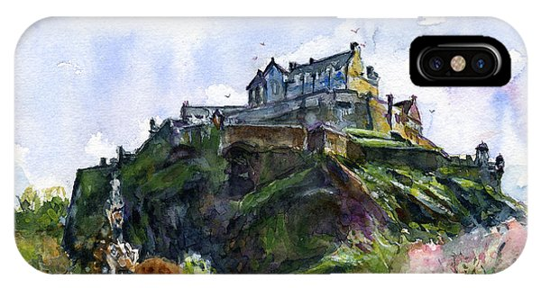 Edinburgh Castle Scotland IPhone Case