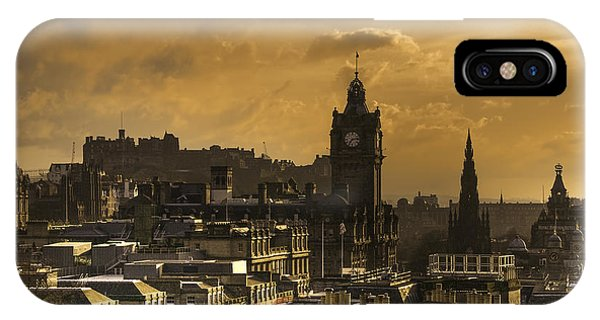 Edinburgh Dusk IPhone Case