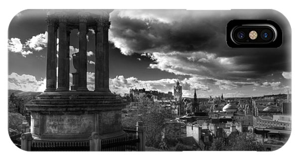 Edinburgh From Calton Hill IPhone Case