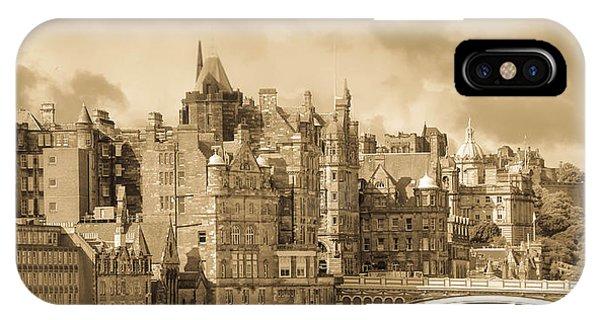 Edinburgh Nostalgia Phone Case by Marie  Cardona