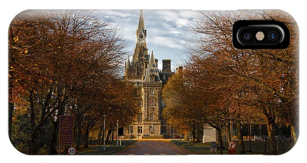 Edinburgh's Fettes College IPhone Case