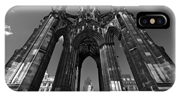 Edinburgh's Scott Monument IPhone Case