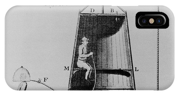 Edmond Halley's Diving Bell Of 1716 Phone Case by Science Photo Library