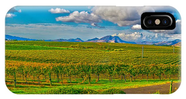 Edna Wineries Ca IPhone Case