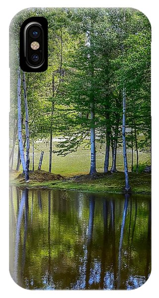 Edson Hill Reflections IPhone Case