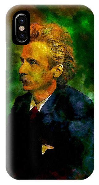 Edvard Grieg IPhone Case