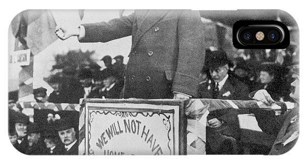 Edward Carson, Leader Of The  Irish Phone Case by Mary Evans Picture Library