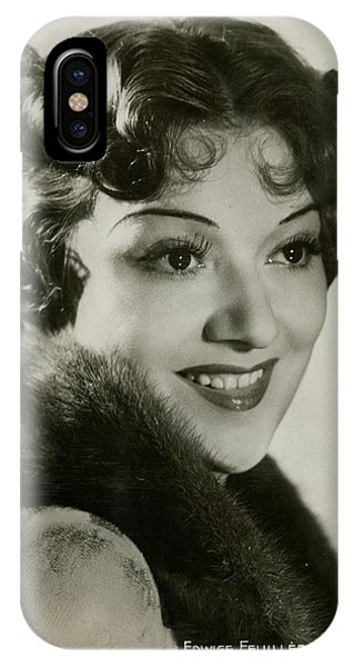 Leading Actress iPhone Case - Edwige Feuillere (1907  1998), (edwige by Mary Evans Picture Library