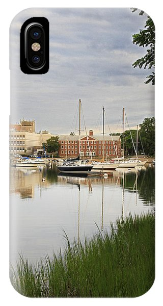 Eel Pond At Dawn IPhone Case