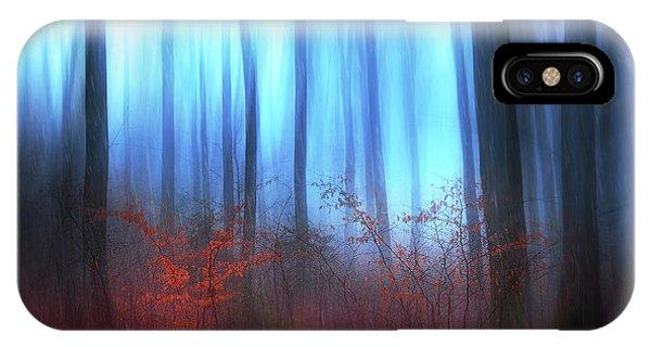 Woods iPhone Case - Eerie Woods by Gustav Davidsson