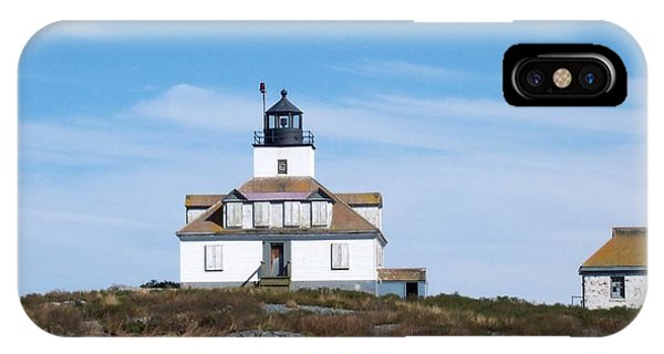 Egg Rock Lighthouse IPhone Case