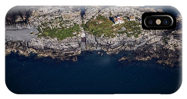 Navigation iPhone Case - Egg Rock Lighthouse by Rick Berk