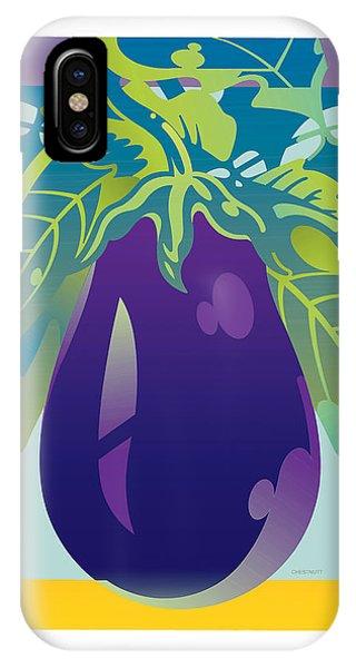 Eggplant IPhone Case