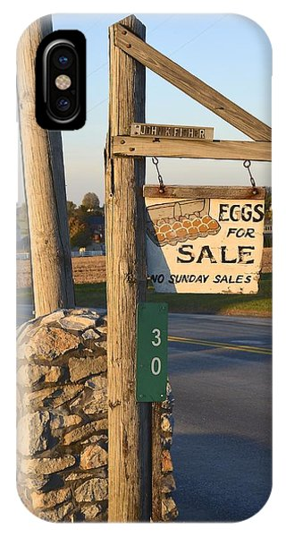 Eggs For Sale IPhone Case