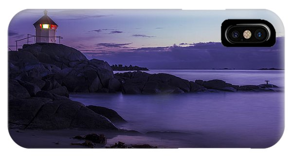 Eggum Lighthouse IPhone Case