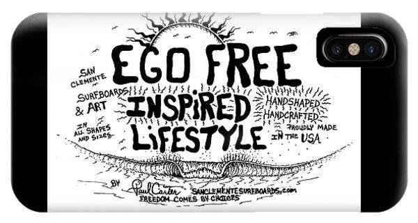 Ego Free Inspired Lifestyle IPhone Case