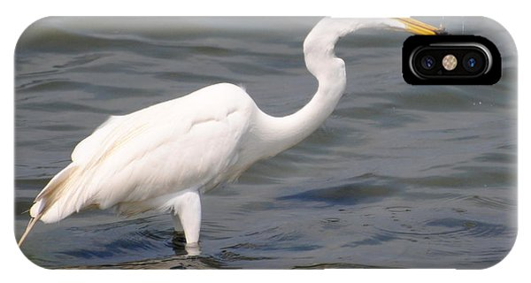 Egret At Lunch IPhone Case