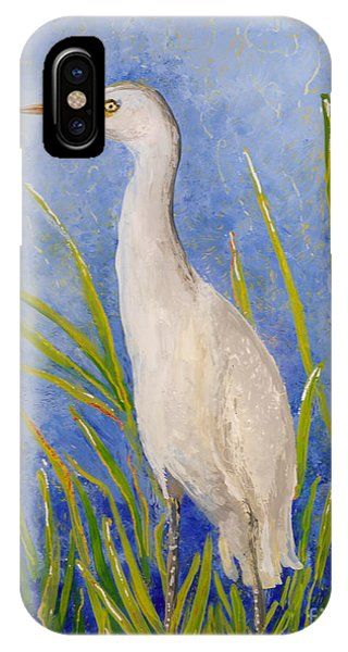 Egret Morning IPhone Case