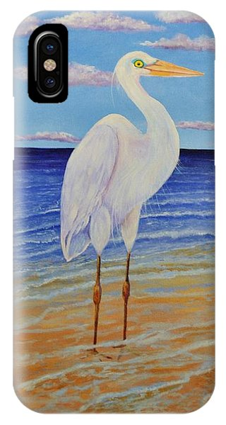 Eager Egret  IPhone Case