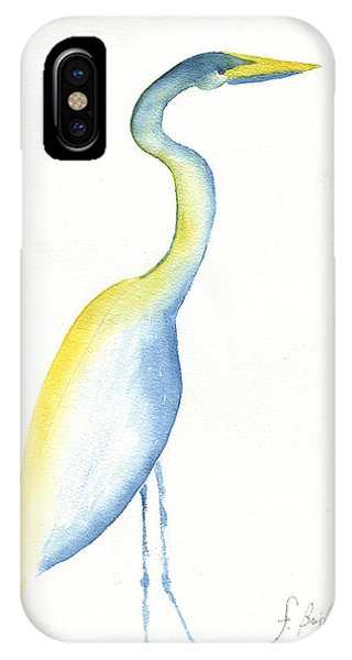 Egret's Glance IPhone Case