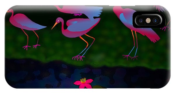 Egrets IPhone Case