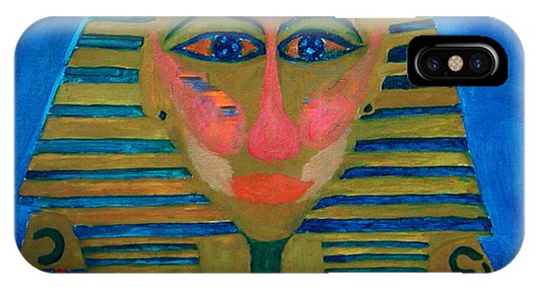 IPhone Case featuring the painting Egypt Ancient  by Colette V Hera  Guggenheim