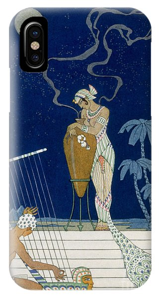 Scent iPhone Case - Egypt by Georges Barbier