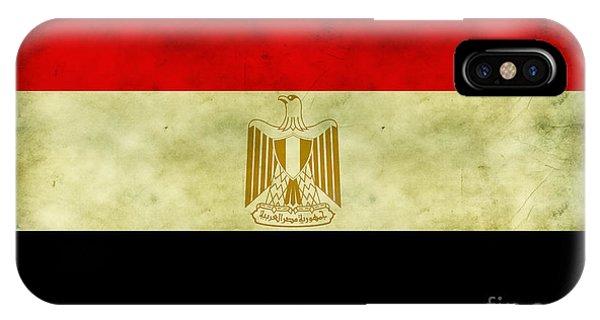 Egyptian Flag  IPhone Case