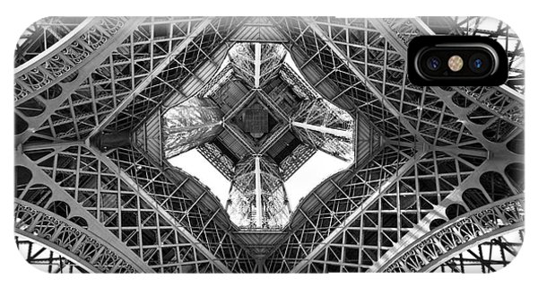 Eiffel Abstract IPhone Case