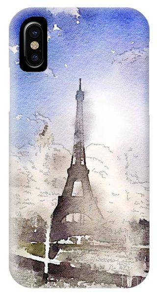 Eiffel During Summer IPhone Case