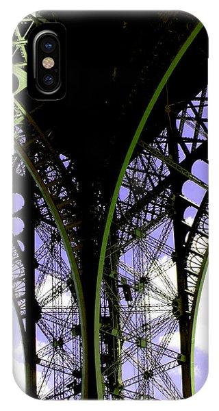 Eiffel Lace IPhone Case