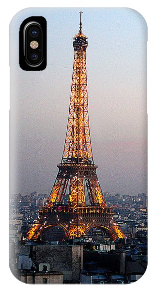Eiffel Tower 19 IPhone Case