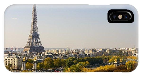 Paris France The Eiffel Tower IPhone Case