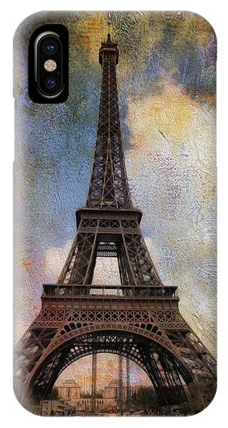 Eiffel Tower As Oil IPhone Case