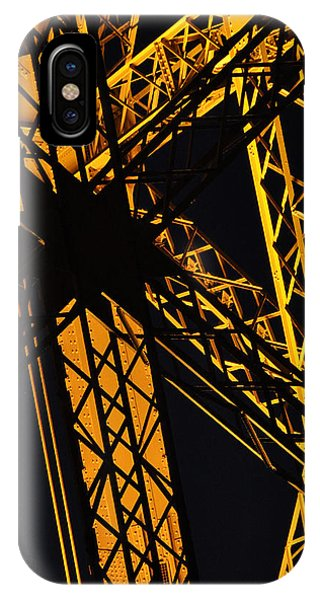 Eiffel Tower Detail IPhone Case