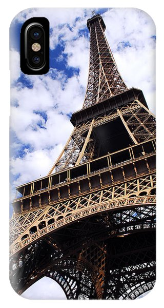 Travel iPhone Case - Eiffel Tower by Elena Elisseeva