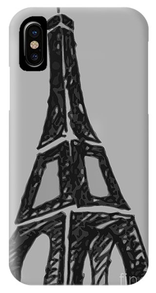 Eiffel Tower Graphic IPhone Case