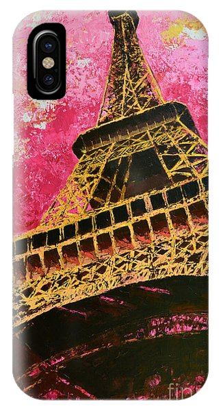Eiffel Tower Iconic Structure IPhone Case