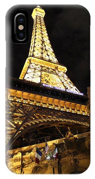 Eiffel Tower Las Vegas Nevada IPhone Case