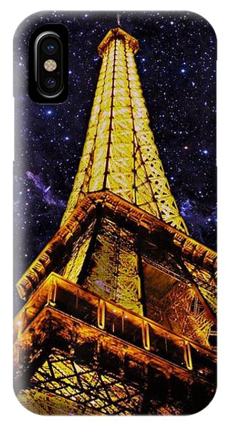Eiffel Tower Photographic Art IPhone Case