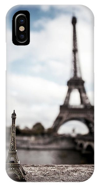 Travel iPhone Case - Eiffel Trinket by Ryan Wyckoff