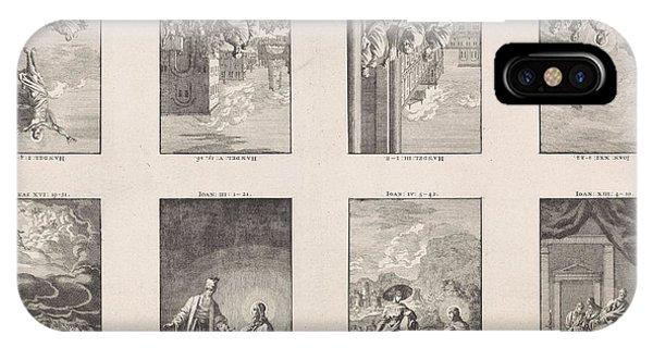 Eight New Testament Scenes On A Sheet, Jan Luyken IPhone Case