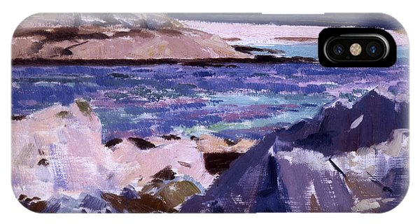 Eilean Annraidh From The North End IPhone Case