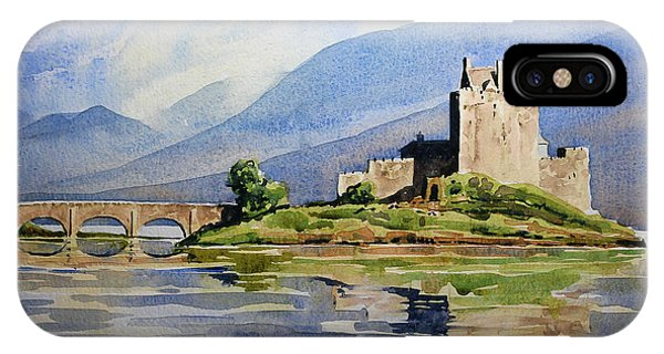 iPhone Case - Eilean Donan Castle by Anthony Forster