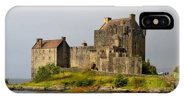 Eilean Donan Castle In Scotland IPhone Case